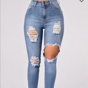 NEW Fashion Nova Plus Size Jeans